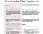 Policy Brief: School Education, and Vocational Education Training in the Era of Digital Transformation